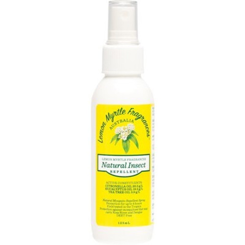 Lemon Myrtle Natural Insect Repellent 125ml - Lemon Myrtle Fragrances