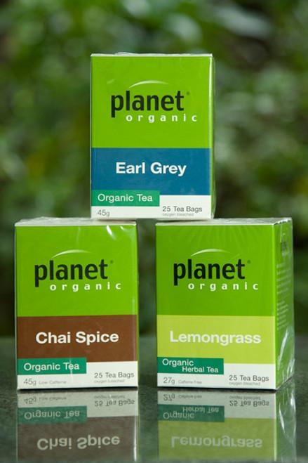 Lemongrass Tea Organic 25 Bags - Planet Organic