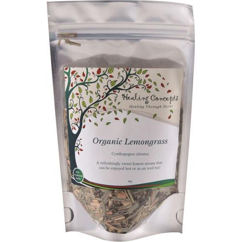 Lemongrass Tea Leaf Organic 50g - Healing Concepts