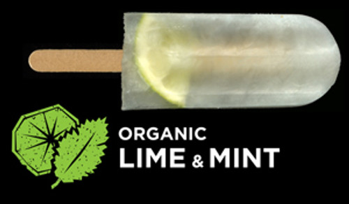 Ice Block Organic Lime & Mint - Flyin Fox
