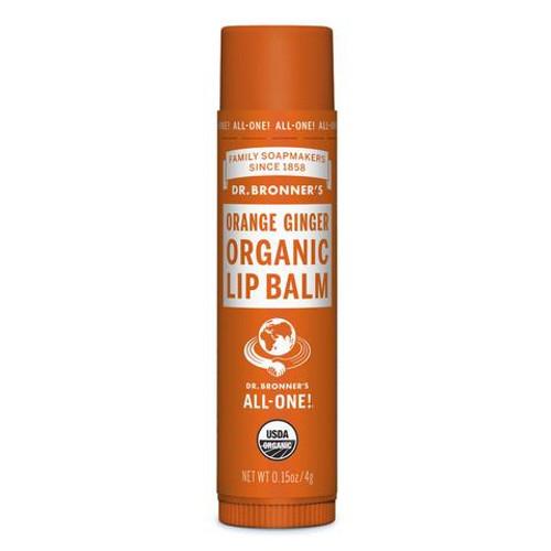 Lip Balm Orange Ginger 4g - Dr Bronners