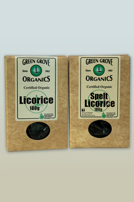 Licorice Plain 180g - Green Grove Organics