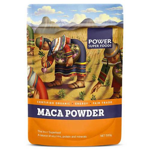 Maca Powder Organic 500g - Power Super Foods