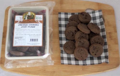Choc Chip Fudge Cookies Organic 200g - Britts Organic