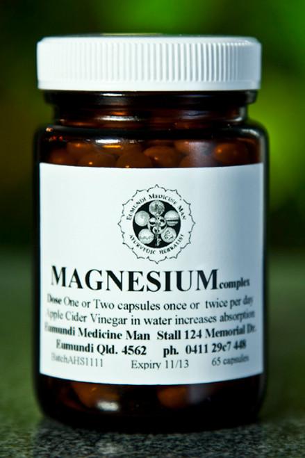 Ayurvedic Health - Magnesium Plus 65 caps