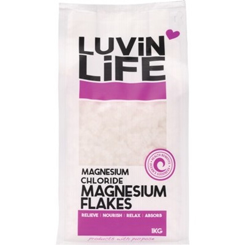 Magnesium Chloride Flakes 1kg - Luvin Life