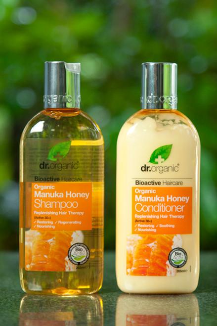 Manuka Honey Replenishing Shampoo 250ml - Dr Organic