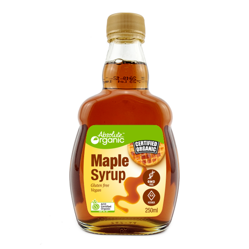Maple Syrup Organic 250ml - Absolute Organic