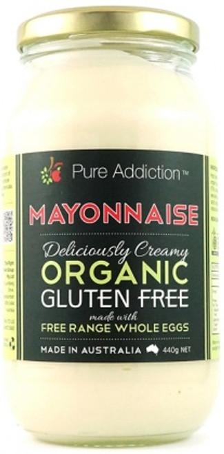 Mayonnaise Whole Egg Organic 440g - Pure Addiction Ozganics