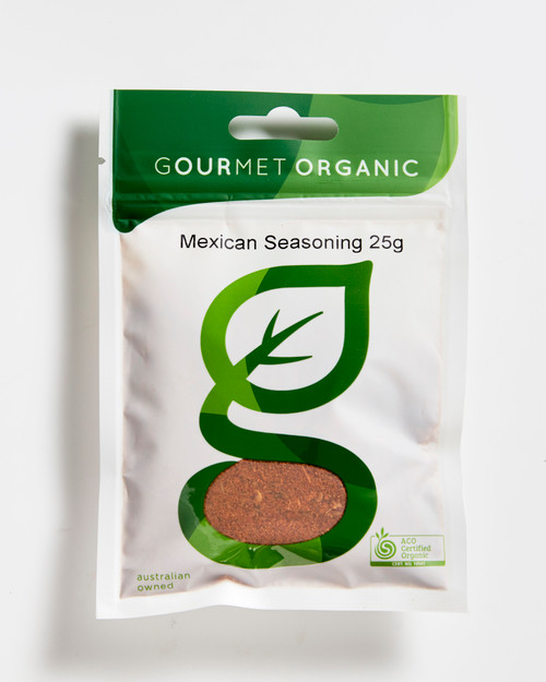 Mexican Seasoning Organic 25g - Gourmet Organics