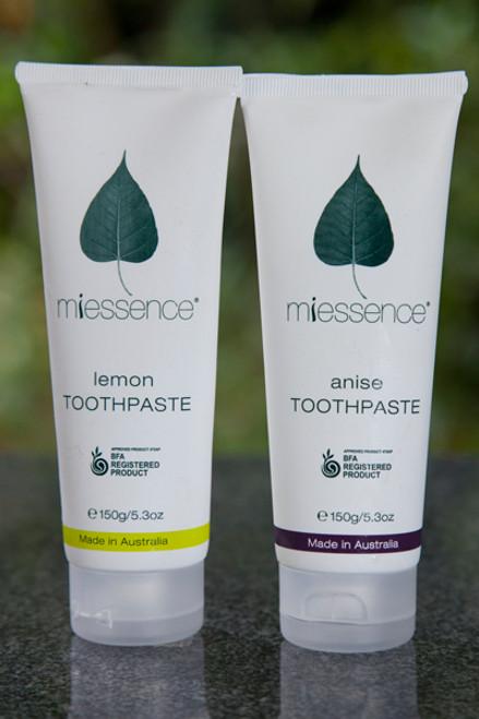 Toothpaste Lemon 140g - Miessence