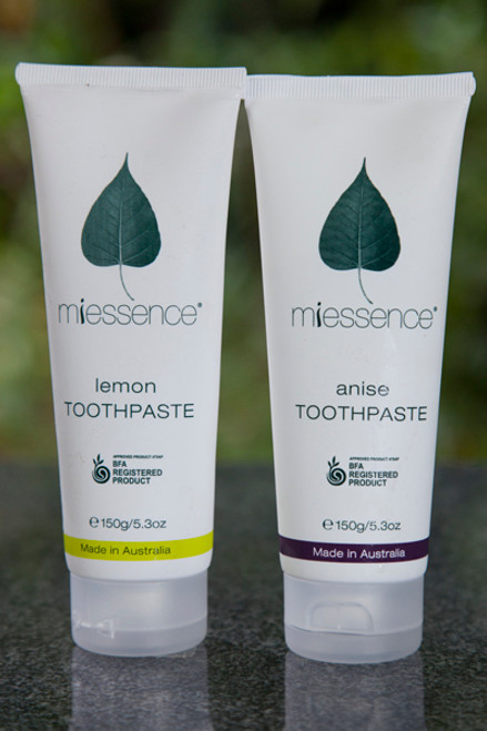 Toothpaste Mint 140g - Miessence