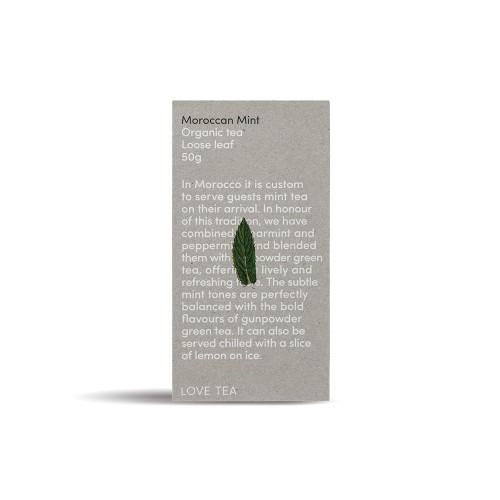 Moroccan Mint Tea Loose Leaf Organic 50g - Love Tea
