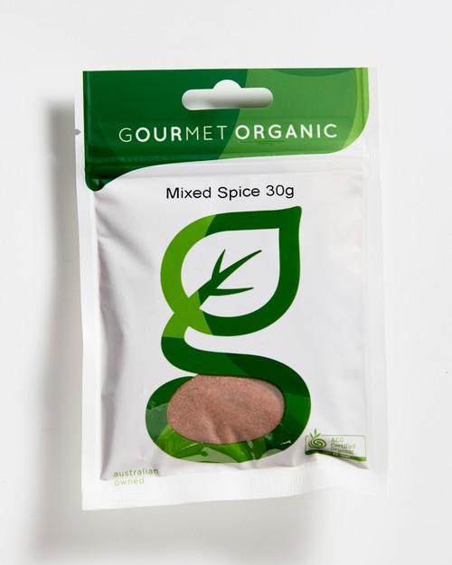 Mixed Spice Organic 30g - Gourmet Organics