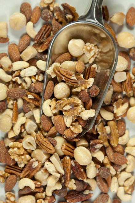 Mixed Nuts Raw Organic  Bulk per 100g - ONS