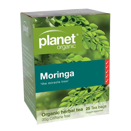 Moringa Tea 25 Bags - Planet Organic