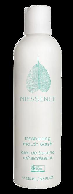 Mouthwash Freshening Mint Organic 250ml - Miessence