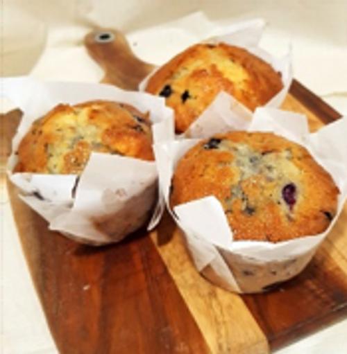 Muffin Spelt Blueberry