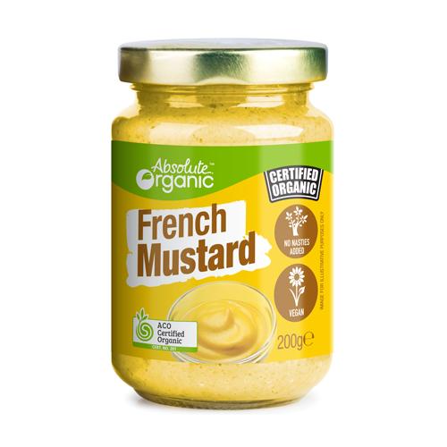 Mustard French Organic 200g - Absolute Organic
