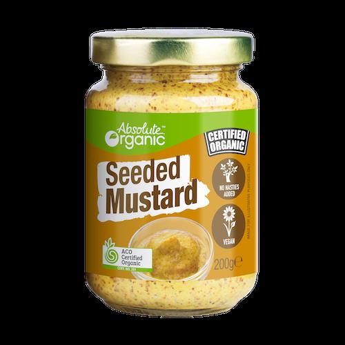 Mustard Seeded Organic 200g - Absolute Organic