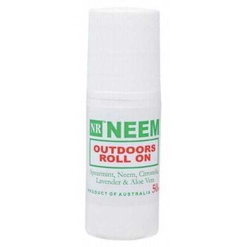 Neem Outdoors Roll On 50ml - Neeming Australia