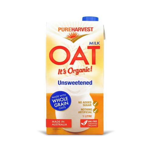 Oat Milk Organic 1L - Pure Harvest
