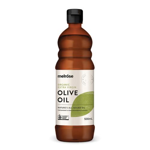 Olive Oil Extra Virgin Organic 500ml - Melrose