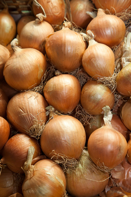 Onions Brown Organic - per kg