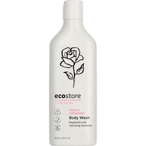 Body Wash Rose & Geranium 400ml - Ecostore