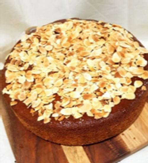 Orange and Almond Cake - Gluten Free - Slice