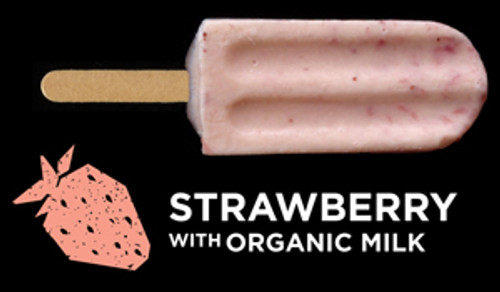Ice Block Organic Strawberry & Cream - Flyin Fox