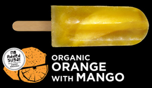 Ice Block Organic Orange with Mango - Flyin Fox