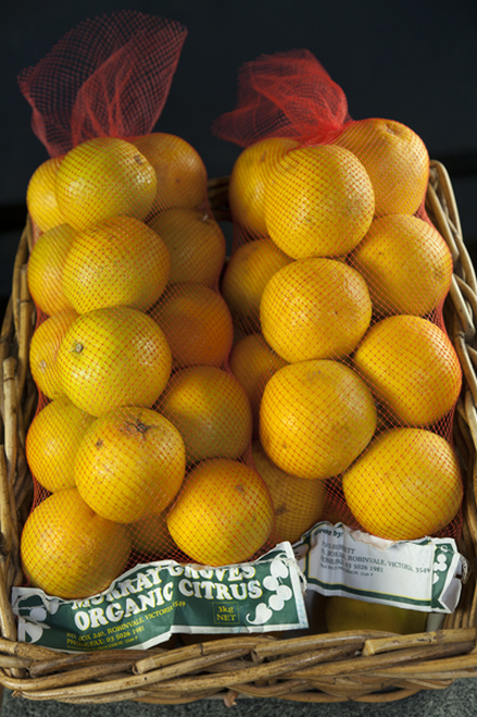 Oranges Valencia Organic - 3kg nets