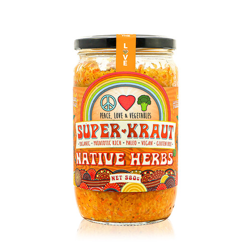 Superkraut Native Herbs Organic 580g - Peace Love & Veges