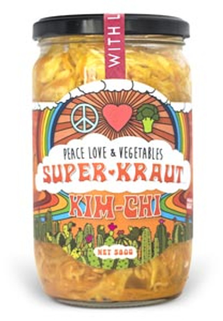 Superkraut Kim Chi Organic 620g - Peace Love & Veges