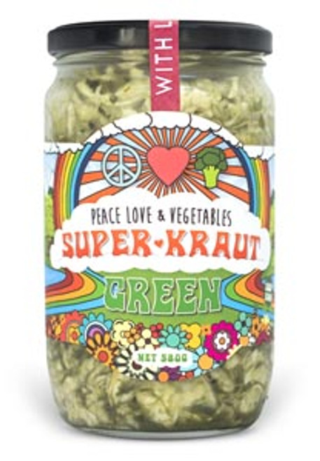 Superkraut Green Organic 385g - Peace Love & Veges