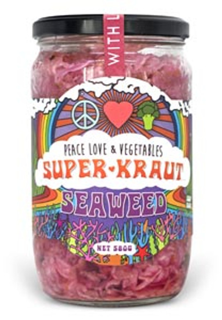 Superkraut Seaweed Tasmanian Organic 375g- Peace Love & Veges