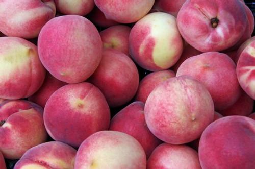 Peaches White Organic - per kg