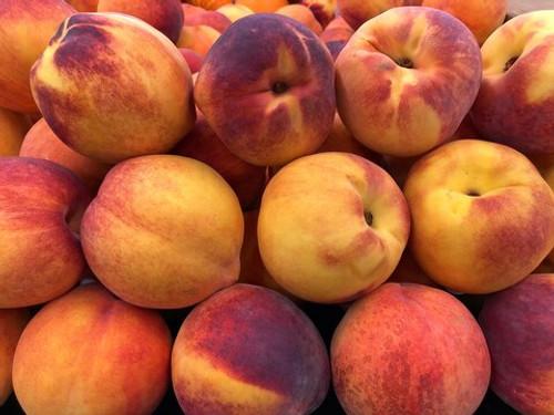 Peaches Yellow Organic - per kg