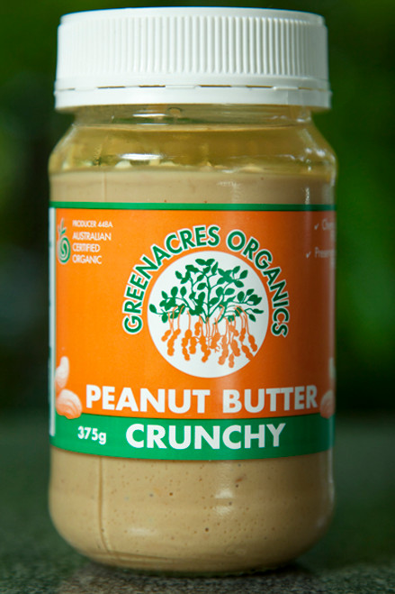 Peanut Butter Crunchy 375g - Green Acres