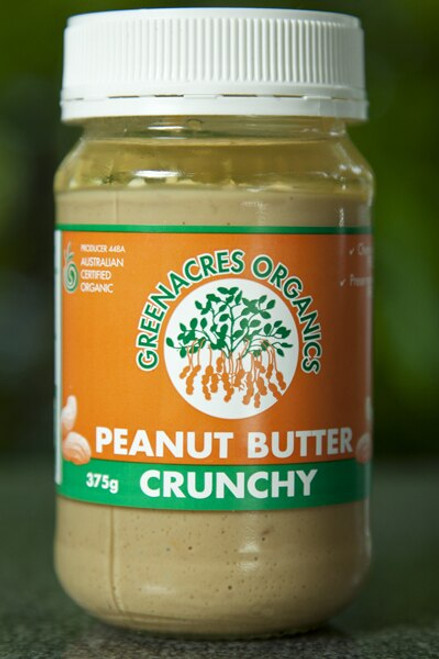 Peanut Butter Smooth 375g - Green Acres