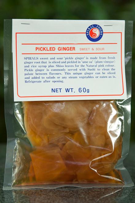 Pickled Ginger 60g - Spiral