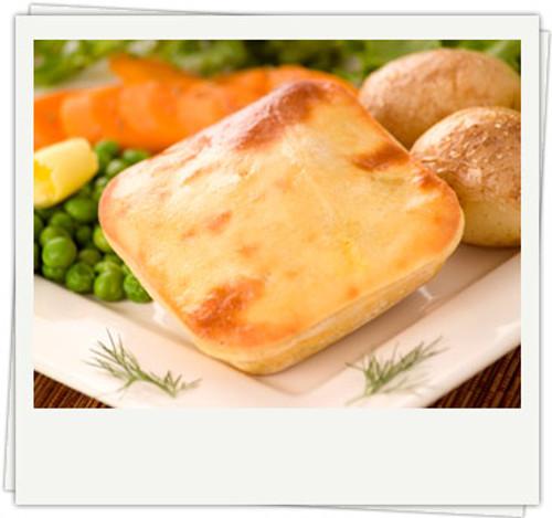 Steak Pie Gluten Free Organic Frozen - Byron Gourmet