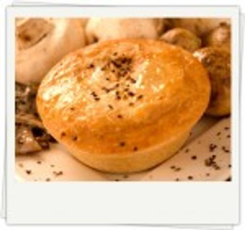 Pepper Steak Pie Organic Frozen - Byron Gourmet