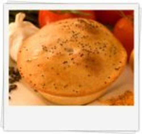 Curried Lentil Spelt Pie (Vegan) Organic Frozen - Byron Gourmet