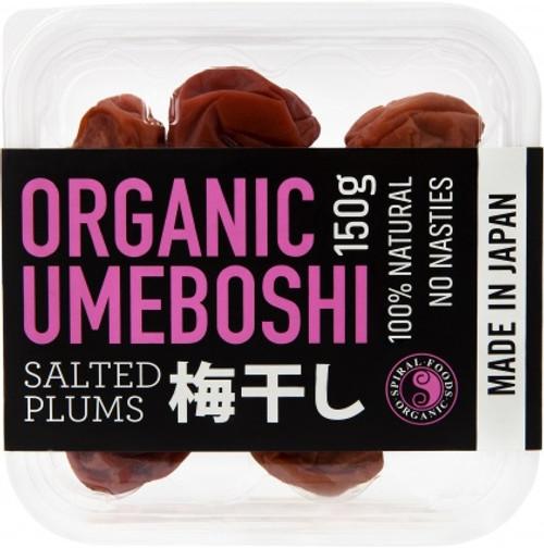 Umeboshi Plums Salted Organic 150g - Spiral