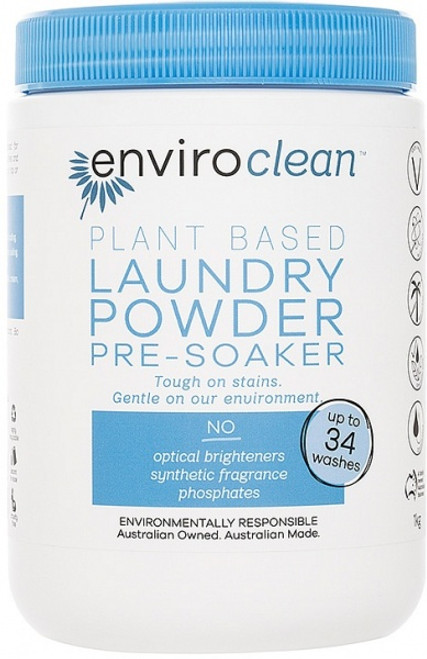 Laundry Powder & Pre Soaker 1kg - Enviroclean