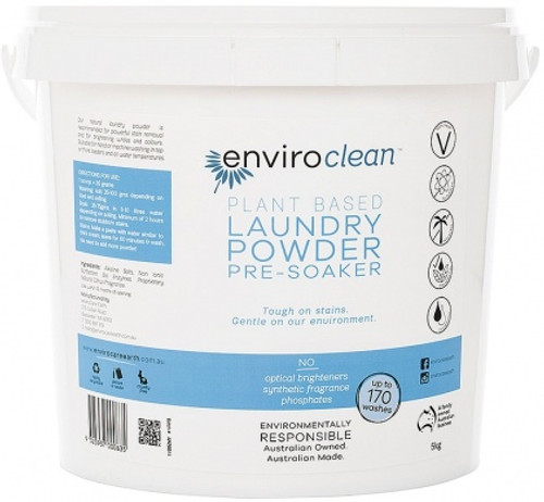 Laundry Powder & Pre Soaker 2kg - Enviroclean