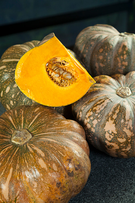 Pumpkin Jap Organic - Half - particularly large today  (approx.)