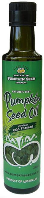 Pumpkin Seed Oil 250ml Chemical Free - Pumpkin Seed Co